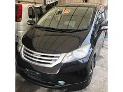 沖縄の中古車 ホンダ フリード 車両価格 65万円 リ済込 平成21年 8.5万K ブラックM