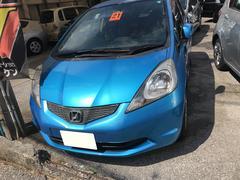 沖縄の中古車 ホンダ フィット 車両価格 35万円 リ済込 平成21年 7.5万K ブルーM