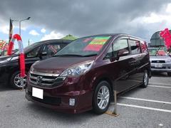 沖縄の中古車 ホンダ ステップワゴン 車両価格 73万円 リ済込 平成20年 9.2万K ワイン