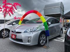 沖縄の中古車 トヨタ プリウス 車両価格 89万円 リ済込 平成22年 6.7万K シルバー