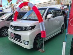 沖縄の中古車 ホンダ ゼストスパーク 車両価格 80万円 リ済込 平成23年 8.3万K パール