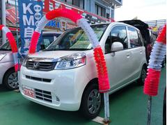 沖縄の中古車 ホンダ ライフ 車両価格 74万円 リ済込 平成24年 5.6万K パールホワイト