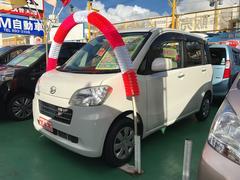 沖縄の中古車 ダイハツ タントエグゼ 車両価格 77万円 リ済込 平成22年 4.9万K パールホワイト