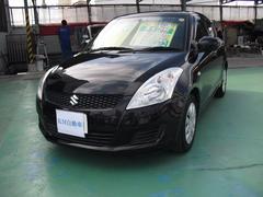 沖縄の中古車 スズキ スイフト 車両価格 79万円 リ済込 平成24年 6.6万K ブラック