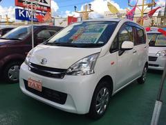 沖縄の中古車 ダイハツ ムーヴ 車両価格 69万円 リ済込 平成23年 6.9万K ホワイト