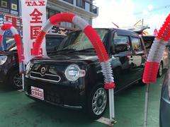 沖縄の中古車 ダイハツ ミラココア 車両価格 79万円 リ済込 平成24年 7.1万K ブラック