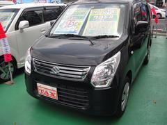 沖縄の中古車 スズキ ワゴンR 車両価格 69万円 リ済込 平成24年 6.0万K ブラック