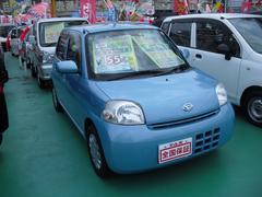 沖縄の中古車 ダイハツ エッセ 車両価格 49万円 リ済込 平成22年 4.1万K ブルー