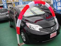沖縄の中古車 日産 ノート 車両価格 79万円 リ済込 平成25年 6.0万K ブラック