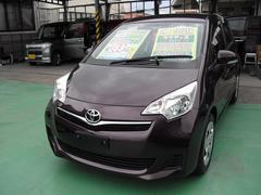 沖縄の中古車 トヨタ ラクティス 車両価格 79万円 リ済込 平成24年 4.0万K Dブラウン