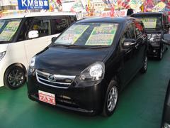 沖縄の中古車 ダイハツ ミライース 車両価格 64万円 リ済込 平成24年 7.1万K ブラック