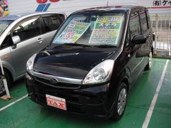 沖縄の中古車 スバル ステラ 車両価格 59万円 リ済込 平成22年 4.4万K ブラック