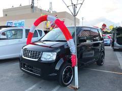 沖縄の中古車 三菱 eKワゴン 車両価格 63万円 リ済込 平成24年 3.1万K ブラック