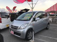 沖縄の中古車 ダイハツ ムーヴ 車両価格 40万円 リ済込 平成20年 10.7万K シルバー