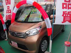 沖縄の中古車 日産 デイズルークス 車両価格 99万円 リ済込 平成26年 3.4万K オレンジ