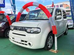 沖縄の中古車 日産 キューブ 車両価格 59万円 リ済込 平成23年 7.5万K パール