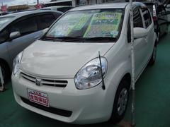 沖縄の中古車 トヨタ パッソ 車両価格 55万円 リ済込 平成23年 6.0万K パールホワイト
