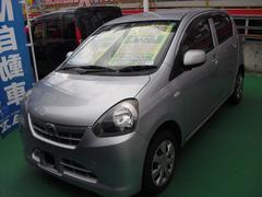 沖縄の中古車 ダイハツ ミライース 車両価格 59万円 リ済込 平成24年 6.7万K シルバー
