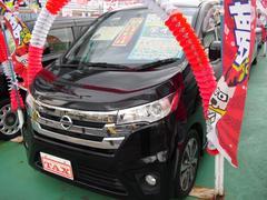 沖縄の中古車 日産 デイズ 車両価格 83万円 リ済込 平成25年 6.6万K ブラック
