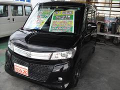 沖縄の中古車 スズキ パレットSW 車両価格 73万円 リ済込 平成22年 7.9万K Dブラック