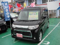 沖縄の中古車 ダイハツ タント 車両価格 83万円 リ済込 平成24年 7.7万K ブラック