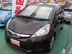 沖縄の中古車 ホンダ フィット 車両価格 69万円 リ済込 平成23年 5.8万K ブラウン