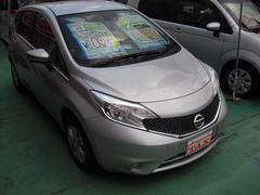 沖縄の中古車 日産 ノート 車両価格 79万円 リ済込 平成27年 7.7万K シルバー