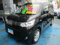 沖縄の中古車 スズキ ワゴンRスティングレー 車両価格 69万円 リ済込 平成25年 5.5万K ブルーイッシュブラックパール3