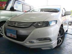 沖縄の中古車 ホンダ インサイト 車両価格 78万円 リ済込 平成23年 6.6万K プレミアムホワイトパール
