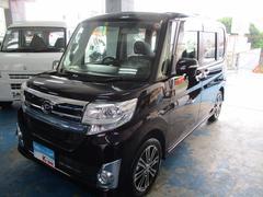 沖縄の中古車 ダイハツ タント 車両価格 115万円 リ済込 平成27年 4.9万K ダークパープルM