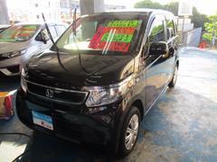 沖縄の中古車 ホンダ N−WGN 車両価格 93万円 リ済込 平成28年 0.5万K ブラック