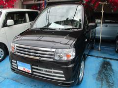 沖縄の中古車 三菱 トッポ 車両価格 45万円 リ済込 平成24年 4.8万K ブラックマイカ