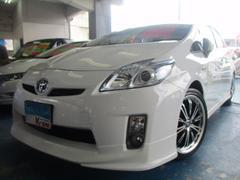 沖縄の中古車 トヨタ プリウス 車両価格 99万円 リ済込 平成22年 7.9万K ホワイト