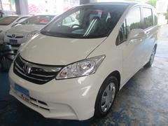 沖縄の中古車 ホンダ フリード 車両価格 85万円 リ済込 平成24年 7.1万K パールホワイト