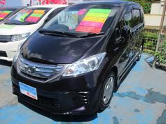沖縄の中古車 ホンダ フリードハイブリッド 車両価格 119万円 リ済込 平成23年 7.7万K ブラック