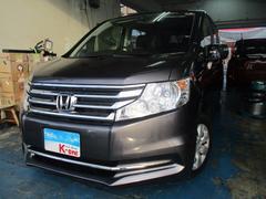 沖縄の中古車 ホンダ ステップワゴン 車両価格 125万円 リ済込 平成26年 3.4万K グレー