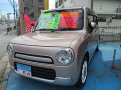 沖縄の中古車 スズキ アルトラパンショコラ 車両価格 93万円 リ済込 平成27年 3.1万K ピンク