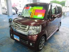 沖縄の中古車 ホンダ N BOXカスタム 車両価格 119万円 リ済込 平成27年 1.8万K ワイン
