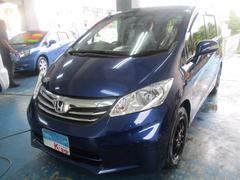 沖縄の中古車 ホンダ フリード 車両価格 129万円 リ済込 平成26年 4.3万K ブルーIII