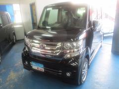 沖縄の中古車 ホンダ N BOXカスタム 車両価格 129万円 リ済込 平成28年 0.2万K ブラック