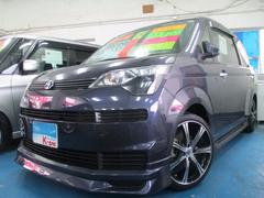 沖縄の中古車 トヨタ スペイド 車両価格 69万円 リ済込 平成24年 5.2万K ダークパープル