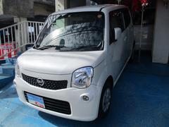 沖縄の中古車 日産 モコ 車両価格 63万円 リ済込 平成26年 2.8万K スノーパールホワイト