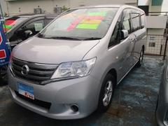 沖縄の中古車 日産 セレナ 車両価格 119万円 リ済込 平成25年 5.8万K シルバー