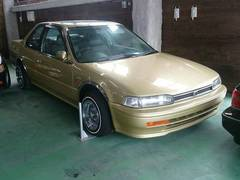 沖縄の中古車 ホンダ アコードクーペ 車両価格 55万円 リ済込 平成5年 13.0万K ゴールドフレーク