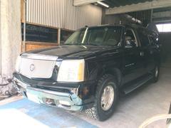 沖縄の中古車 キャデラック キャデラック エスカレード 車両価格 99万円 リ済込 2004年 7.6万K ブラック