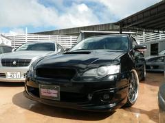沖縄の中古車 スバル レガシィB4 車両価格 59万円 リ済別 平成17年 16.5万K オブシディアンブラックパール