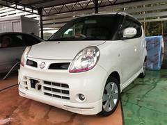 沖縄の中古車 日産 モコ 車両価格 19万円 リ済別 平成18年 15.4万K スノーパールホワイト