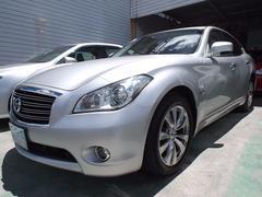沖縄の中古車 日産 フーガハイブリッド 車両価格 162万円 リ済込 平成24年 7.2万K シルバー