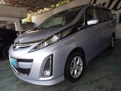 沖縄の中古車 マツダ ビアンテ 車両価格 75万円 リ済込 平成21年 7.5万K シルバー