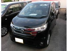 沖縄の中古車 日産 デイズ 車両価格 134万円 リ済込 平成27年 35K ブラック